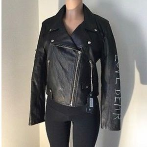 Golden goose Leather jacket woman's